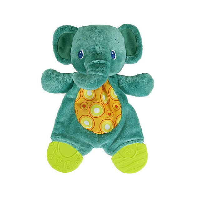Bright Starts Snuggle & Teethe Teether Plush Toy - Elephant