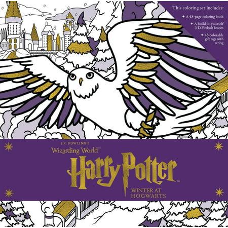 Winter Preschool Crafts (Harry Potter: Winter at Hogwarts: A Magical Coloring)