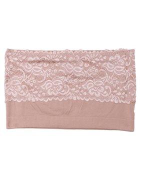 e9a4cb5e40 Product Image Coobie Seamless One Size Comfort Strapless Lace Bandeau Bra  9062 NEW