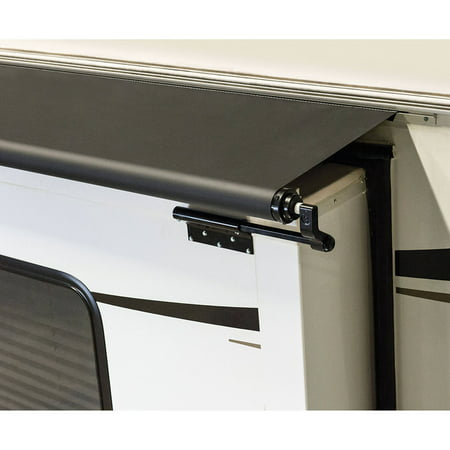 Lippert Components Solera Black Slider Awning With Black