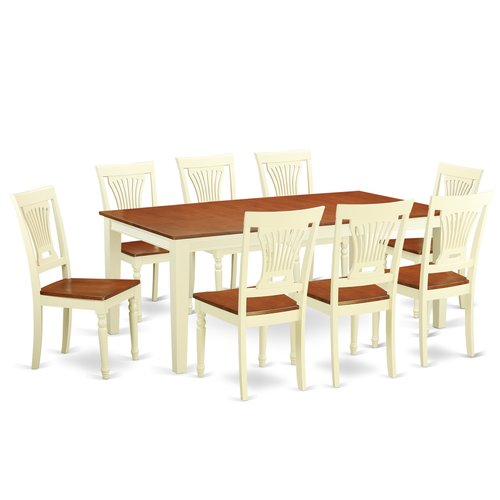 Red Barrel Studio Loraine 9 Piece Dining Set
