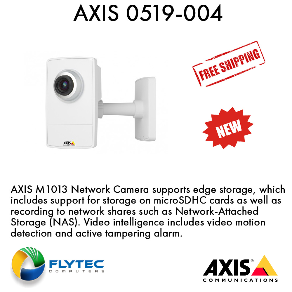 NEW DRIVERS: AXIS M1013 NETWORK CAMERA