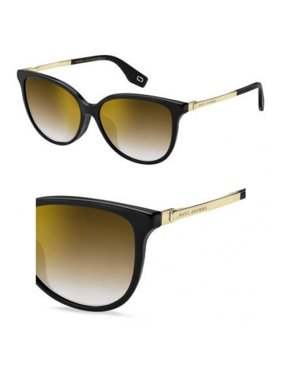 0298514acee09 Product Image Sunglasses Marc Jacobs 307  F S 0807 Black   JL brown ss gold  lens