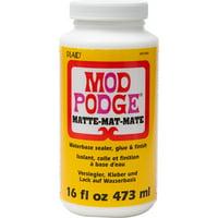 Mod Podge WMCS11302 Sealer, Glue, and Finish, Matte Finish, Clear, 16 fl oz