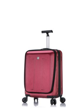 92beea36b4 Product Image Fribourg Premium Spinner Carry On Luggage - Red