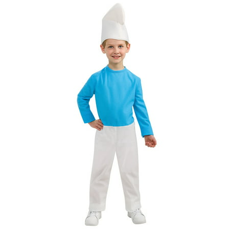 The Smurfs Smurf Child Costume](Vexy Smurf Halloween Costume)