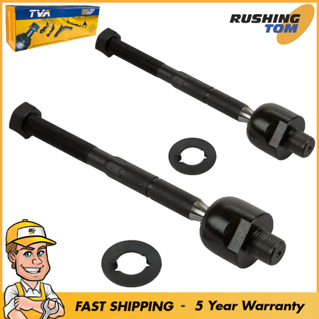 New Front Inner Tie Rod End Set of 2 For Acura MDX Honda Pilot Left & Right (New Acura Tie Rod Rods)