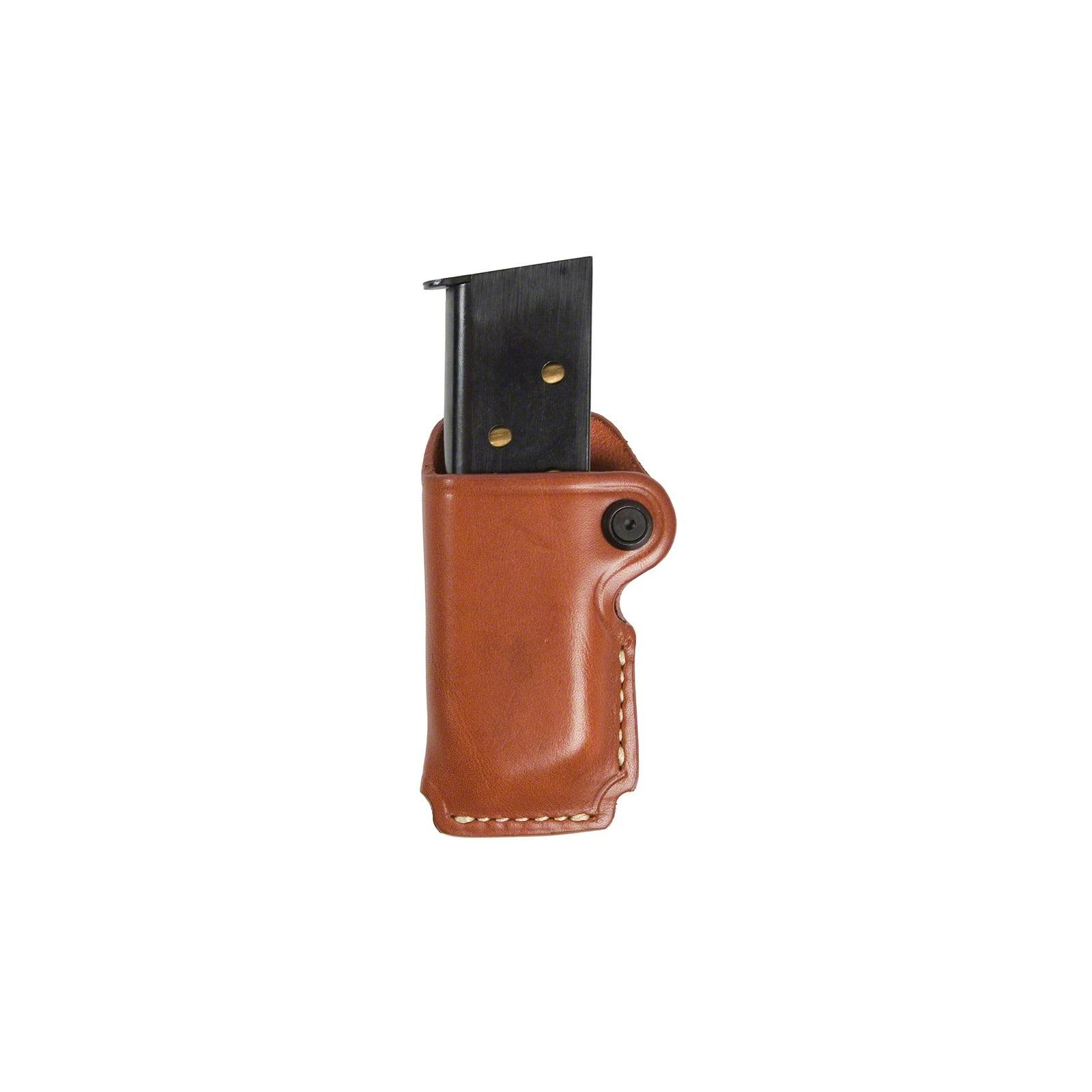 Blackhawk Lthr Sngl Mag Pch Sngl Stack BN 9/.40/.45/ETC., 420900BN