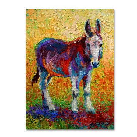 Trademark Fine Art Migo Canvas Art By Marion Rose