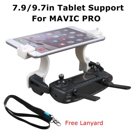 Digital Prom Bracket - 7.9-9.7inch Digital Tablet Bracket Holder Mount with Free Lanyard for DJI MAVIC PRO Remote Controller