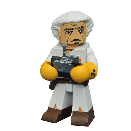 Back to the Future Doc Brown Minimate - Doc Brown Cosplay
