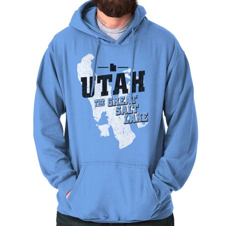 Brisco Brands Utah The Great Salt Lake City Pullover Hoodie