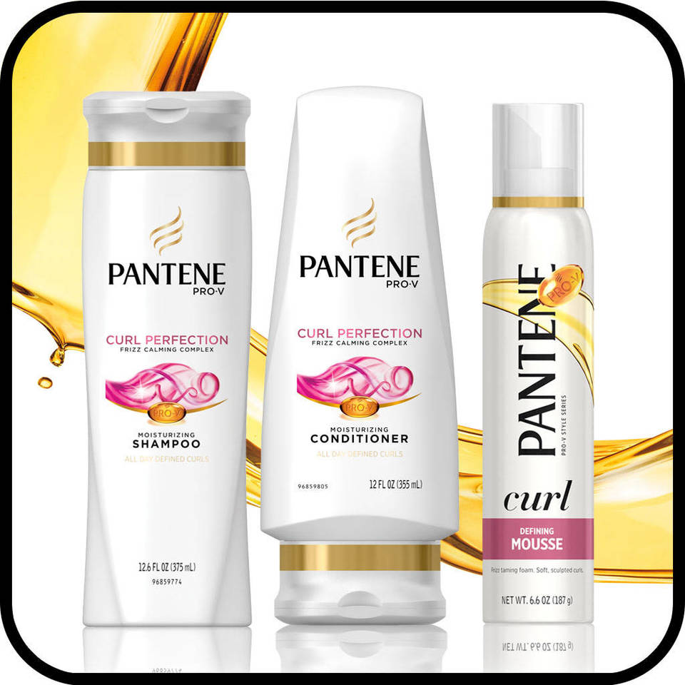 Pantene Pro-V Curl Perfection Hair Care Collection
