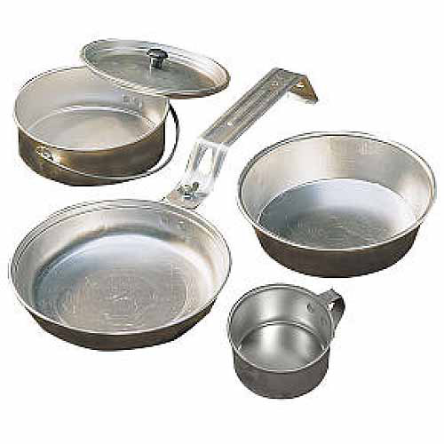 Coleman One-Person Aluminum Mess Kit