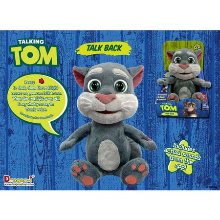 Talking Tom Talk Back Animation Walmart Com