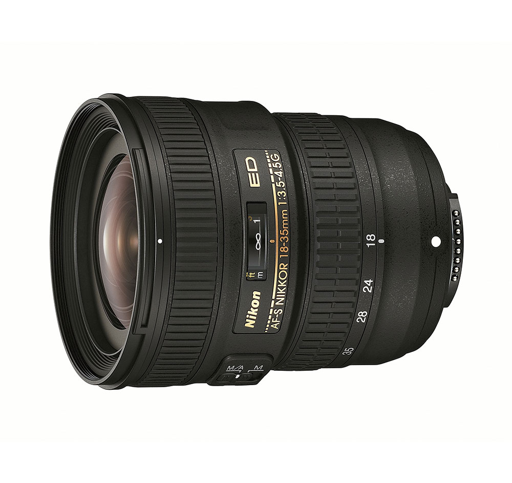 Nikon AFS NIKKOR 18-35mm f/3.54.5G ED Wide Angle Zoom Lens