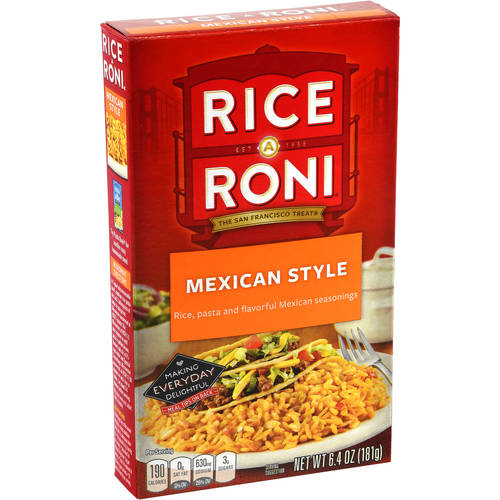 Rice-A-Roni Mexican Style Rice Mix, 6.4 oz