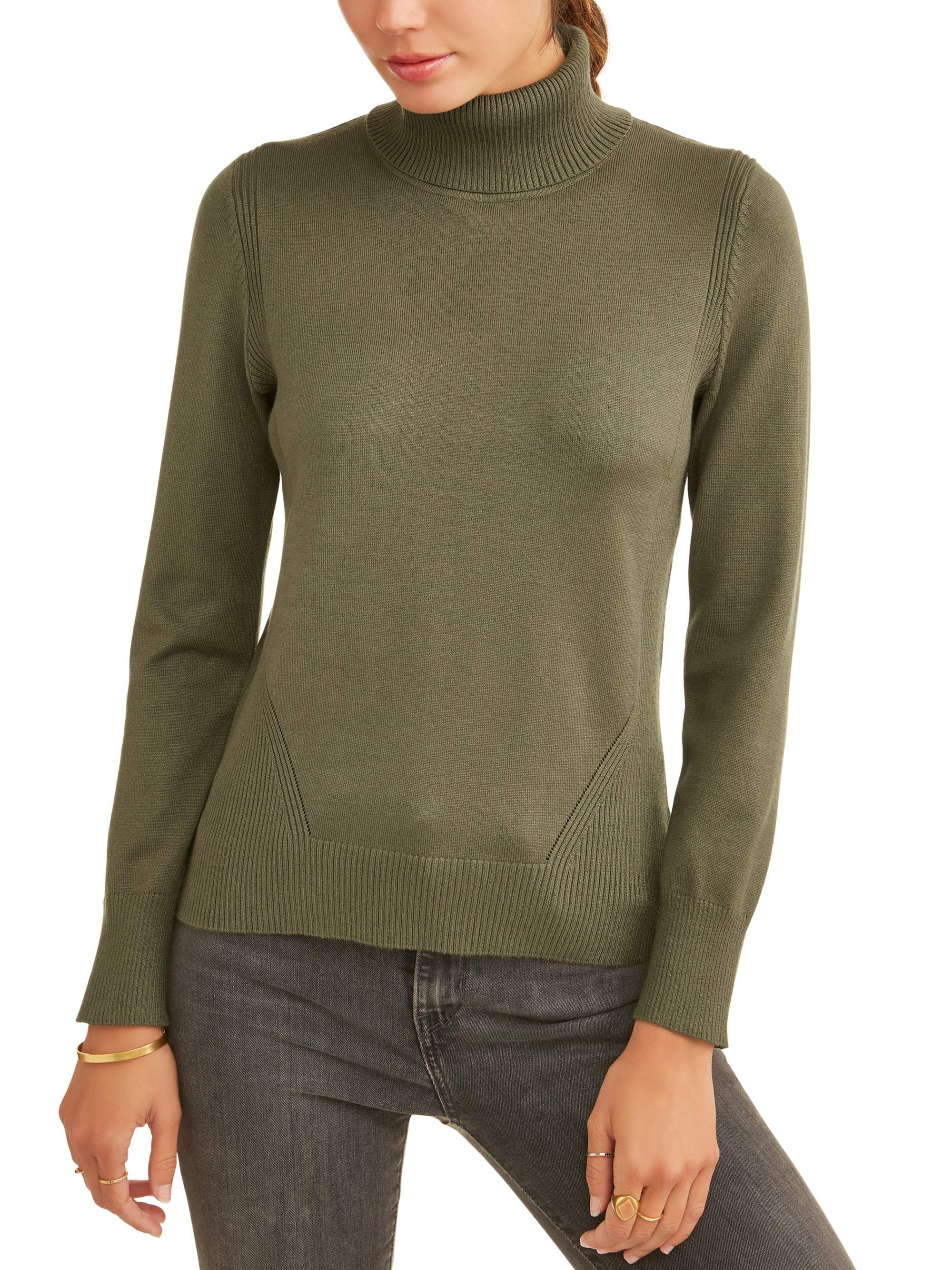 Women's Relaxed Fit Turtleneck