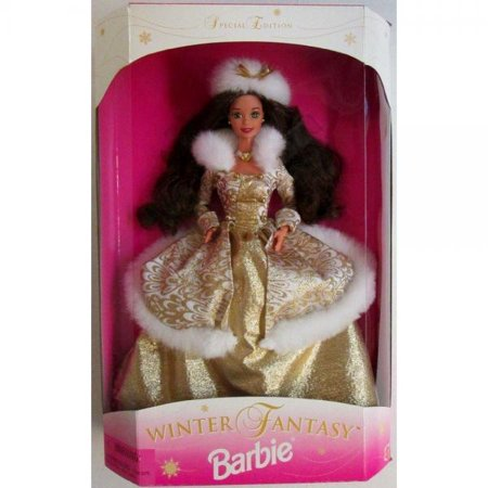 Barbie 1995 Sam's Club Winter Fantasy Doll Special Edt