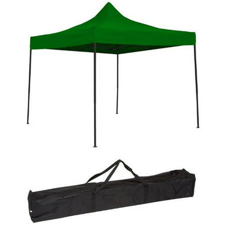 Trademark Innovations Lightweight and Portable Canopy Tent Set, 10' x 10', Green