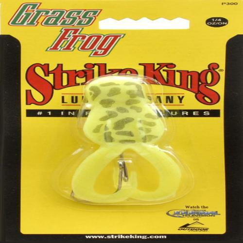 Strike King Lures 1/4oz. Grass Frog - Char - P300-1