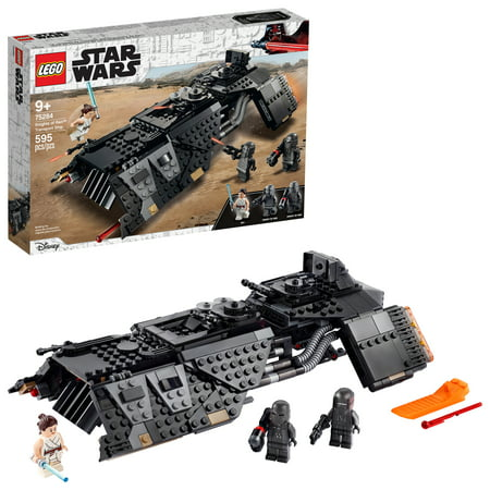 LEGO Star Wars: The Rise of Skywalker Knights of Ren Transport Ship 75284 Spacecraft Building Toy for Creative Play (595 Pieces)