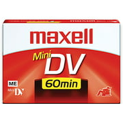 Maxell miniDV Videocassette - Single
