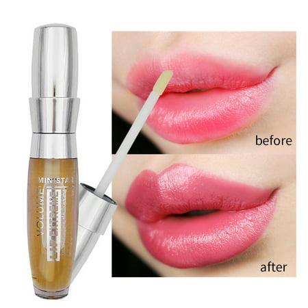 Fysho Big Lips Transparent Makeup Long Lasting Waterproof Moisturizer Sexy 3D Lip Plumper Extreme