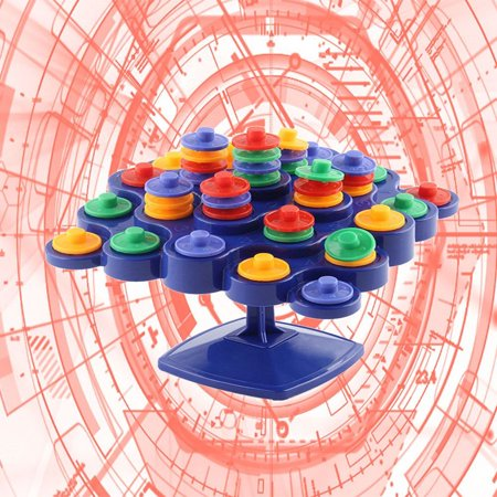 Outtop Children Educational Toys Board Game Desktop Toy Balancing Top Tower