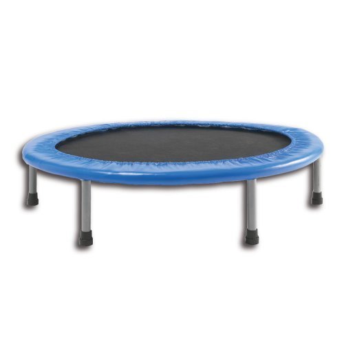 38 Inch Blue Mini Trampoline