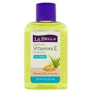 La Bella 10 000 IU Vitamin E Oil with Aloe Vera 2.5 fl oz