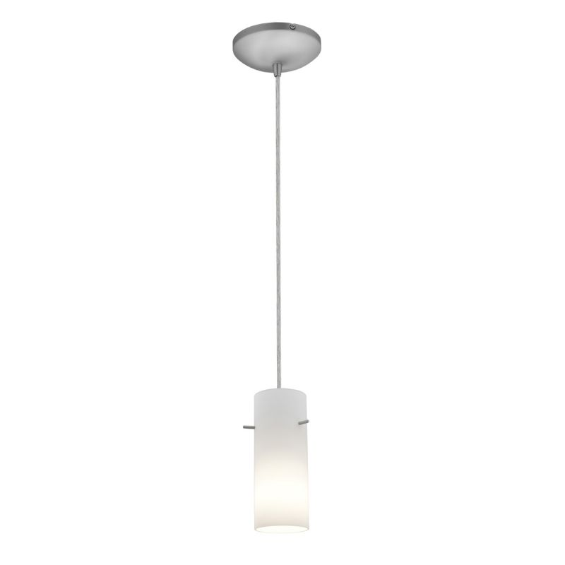 Access Lighting 28030-1C Sydney Inari Silk Cylinder Glass Mini Pendant by