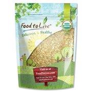 Food To Live  Certified Organic Buckwheat Groats (Raw, Hulled, Non-GMO, Bulk) (1 Pound)
