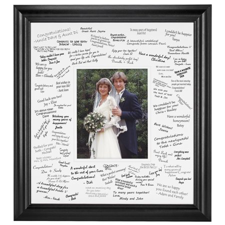 Frame Usa Wedding Signature Mat Set For 8x10 Photo Walmartcom