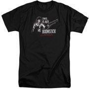 Mgm Army Of Darkness Boomstick Mens Big and Tall Shirt