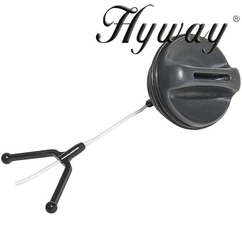 Husqvarna fuel/oil cap replaces 537 21 52-02