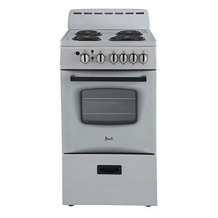 Avanti er20p0wg white 20 inch electric range freestanding - Inch electric range reviews ...