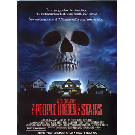 The People Under The Stairs  1991  27X40 Movie Poster
