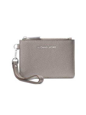 391e6b0242ff Product Image MICHAEL Michael Kors Leather Coin Purse, Color Pearl Grey  32T7SM9P0L-081