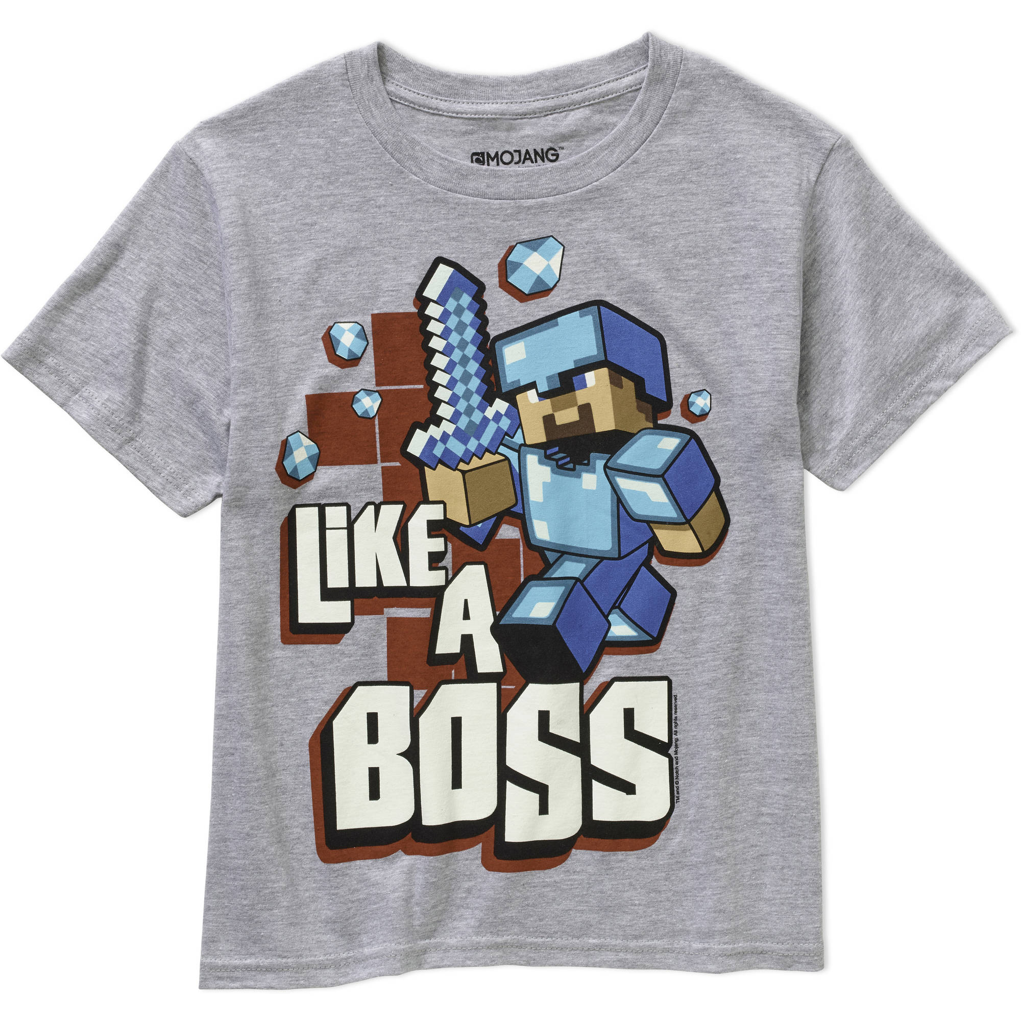 Minecraft Boss Boys Graphic Tee by