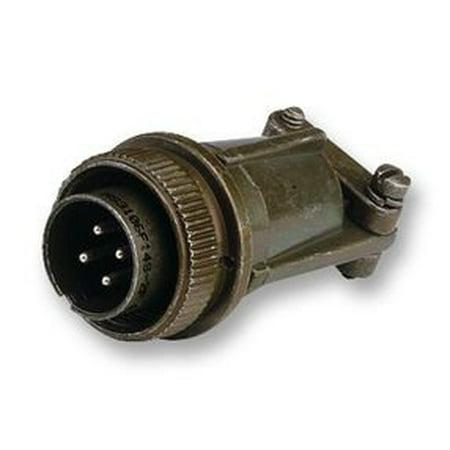 ITT CANNON MS3106E14S-2P CIRCULAR CONNECTOR, PLUG, 14S-2, CABLE (Itt Cannon Connectors)