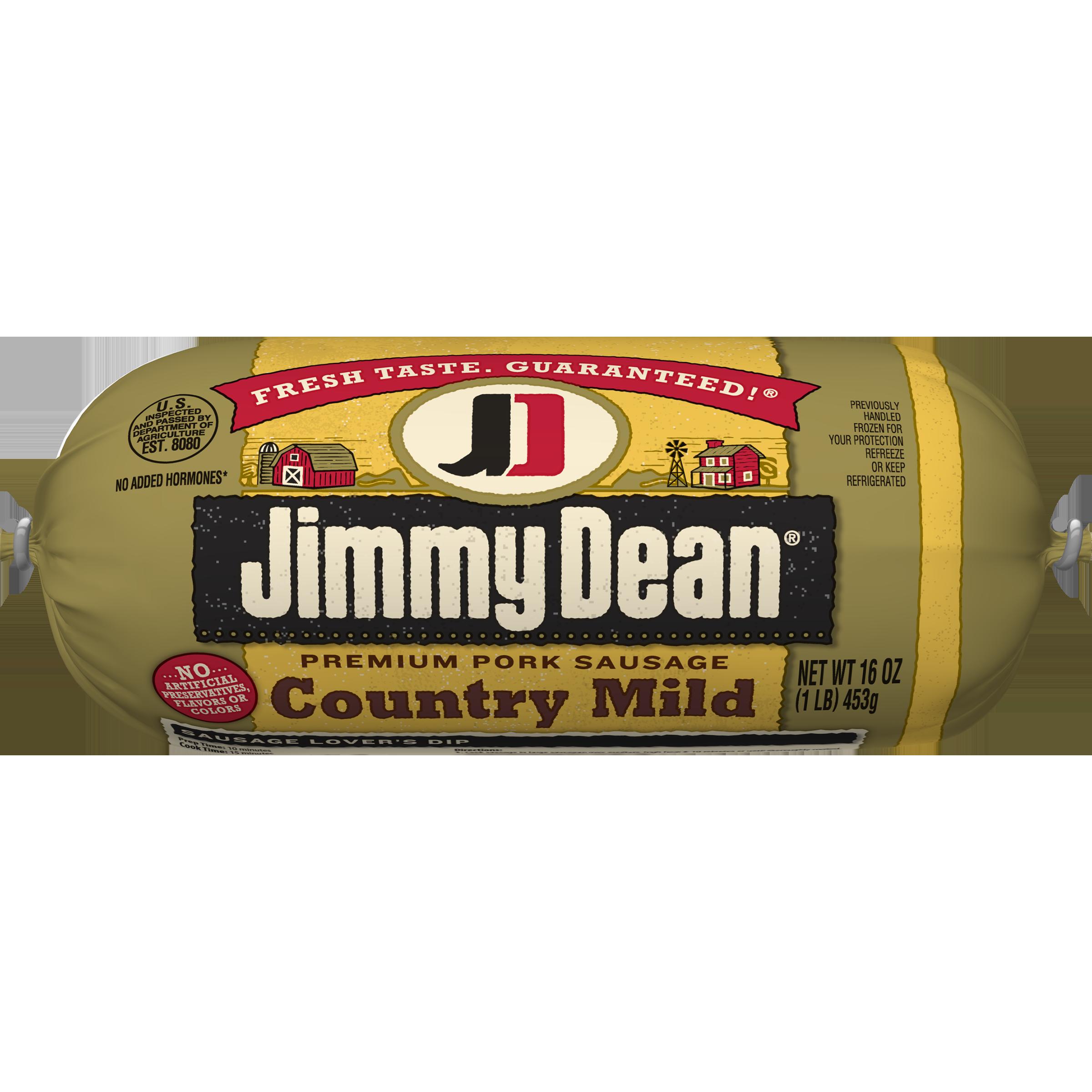 Jimmy Dean® Premium Pork Country Mild Sausage Roll, 16 oz.