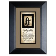 The James Lawrence Company 'Together Love The Lord' Framed Textual Art