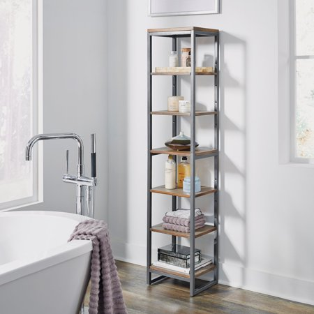 Home Styles Barnside Metro Seven Tier Bath Shelf (Metro Shelving Accessories)
