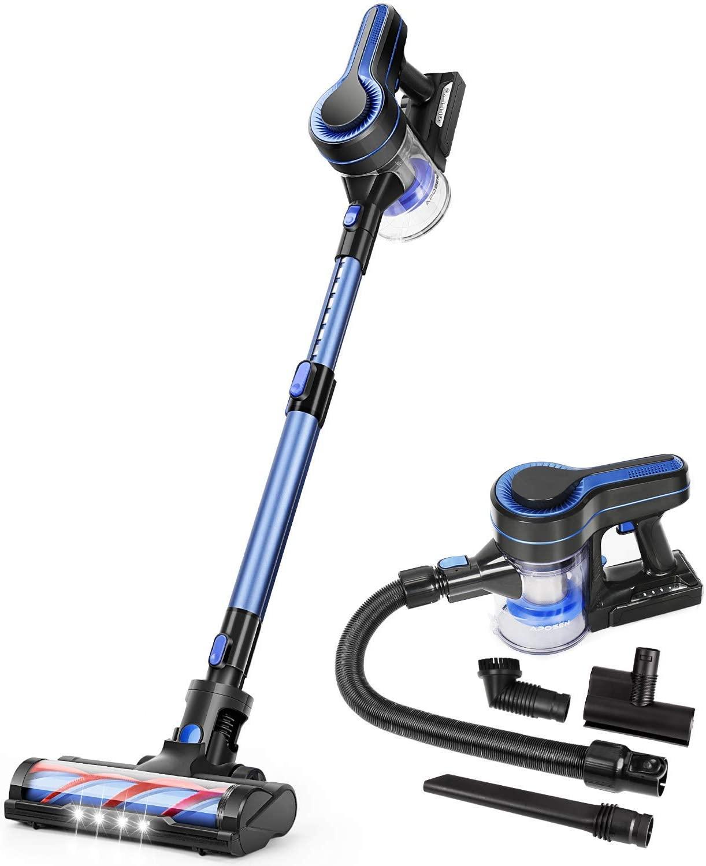APOSEN Cordless Vacuum Cleaner, Upgraded 24000pa Stick Vacuum