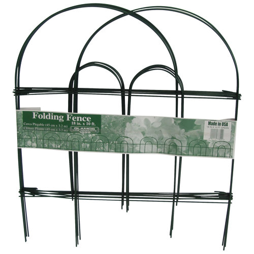 "Glamos Wire 18"" x 10"" Green Fence by Glamos Wire"