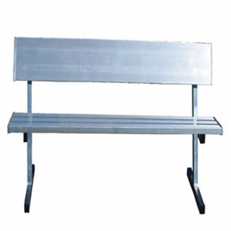 Permanent Players (Jaypro Pb-80Pi Players Bench - 7.5Ft - Permanent With)