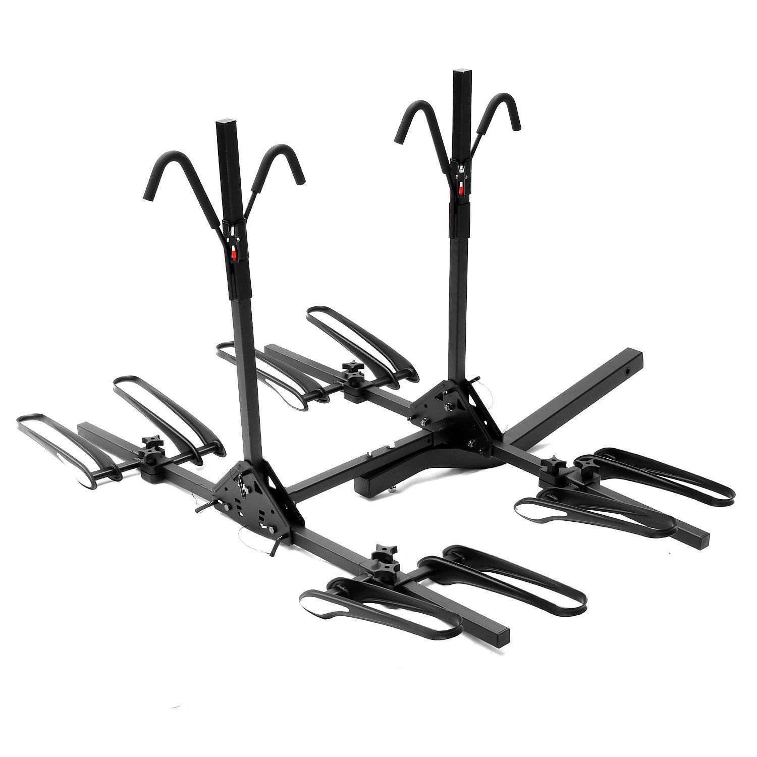 "4 Bicycle Bike Rack 2"" Hitch Mount Carrier Car"