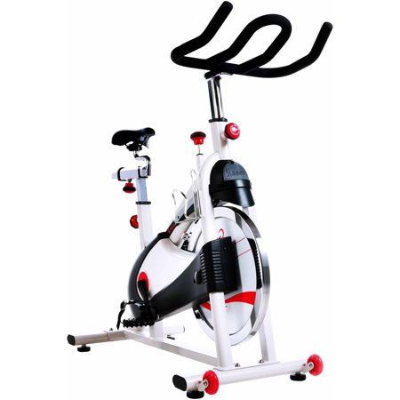 Sunny Health and Fitness SF-B1509 Belt Drive Premium Indoor Cycling Bike