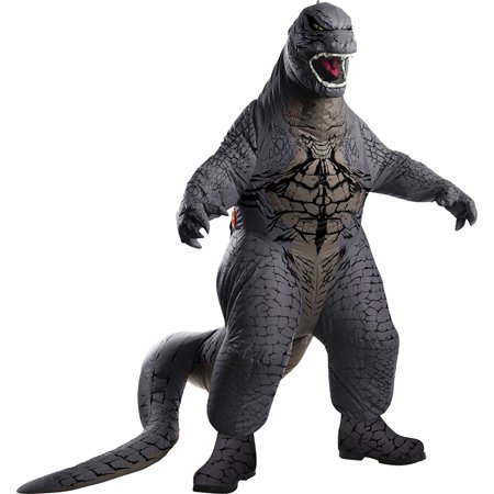 Morris Costumes Boys Godzilla Child Blow Up Complete Outfit, Style RU884740 - Godzilla Halloween